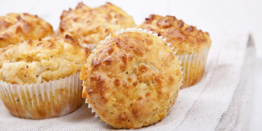 Käsekuchen Muffin mit Keksboden und Streusel