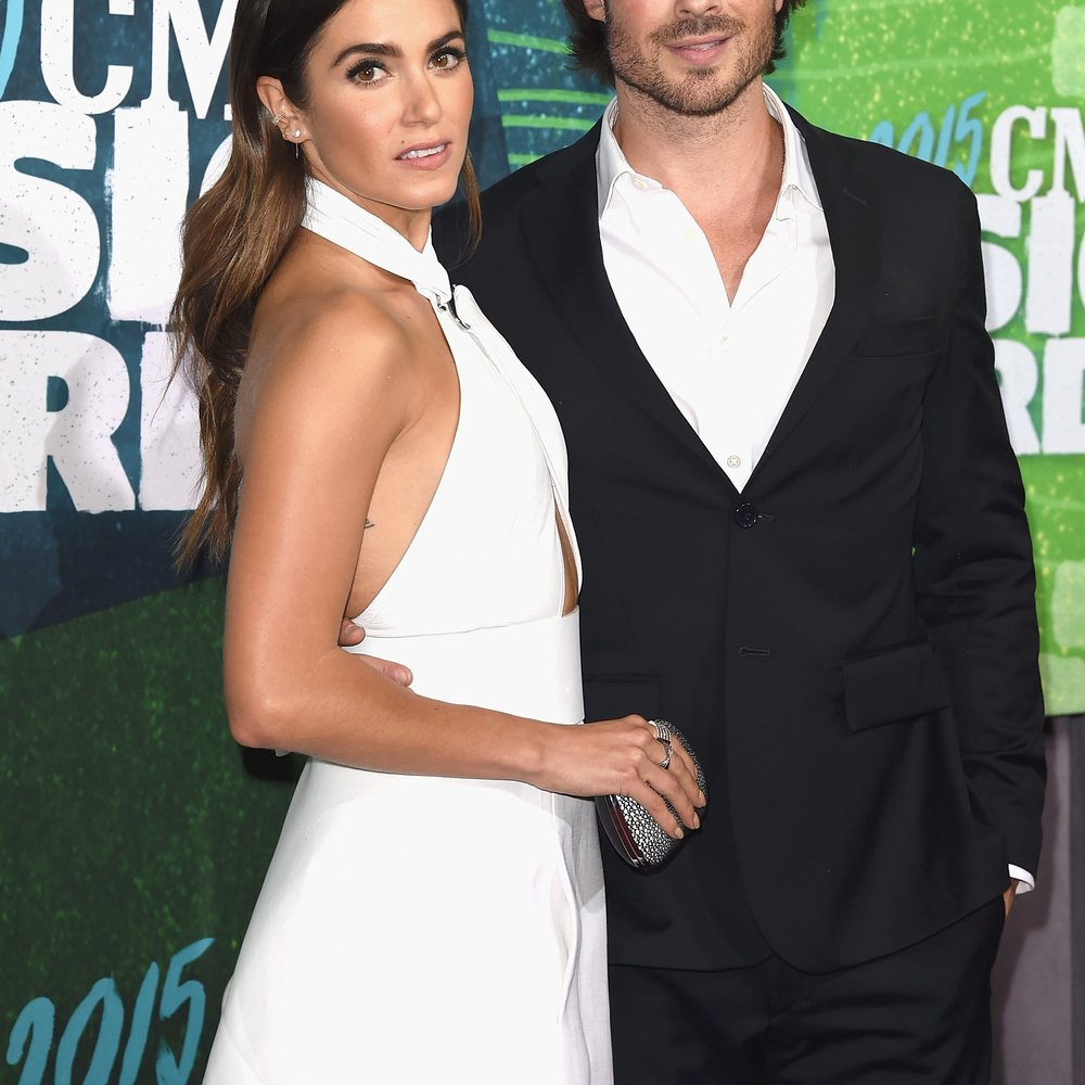 Nikki Reed und Ian Somerhalder bei den CMT Music Awards