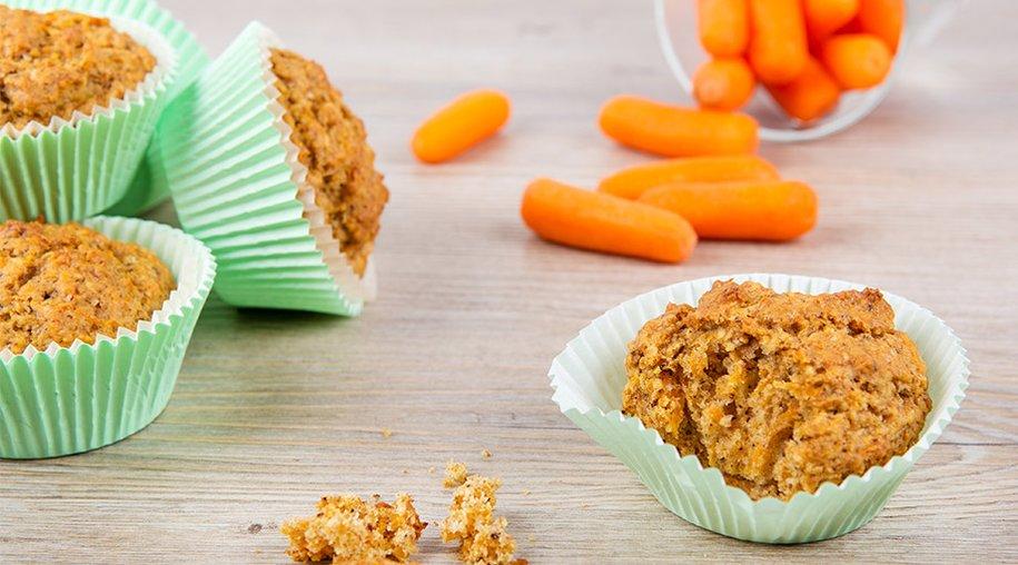 Muffins mit Karotten