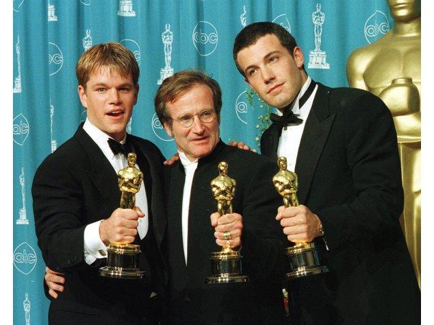Matt Damon, Robin Williams und Ben Affleck auf dem Gipfel ihres Triumphs