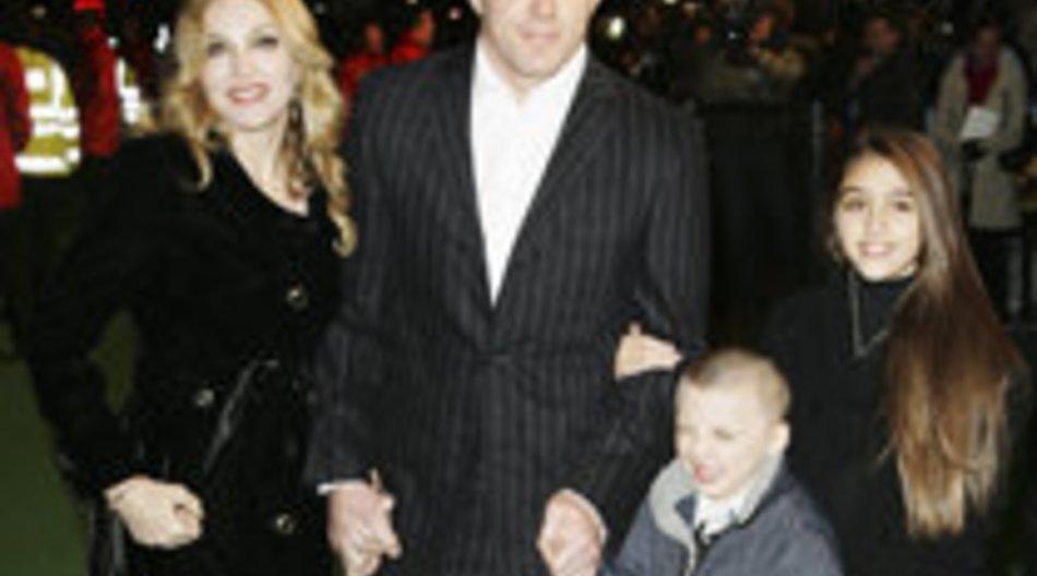 Madonna und Guy Ritchie vertragen sich wieder