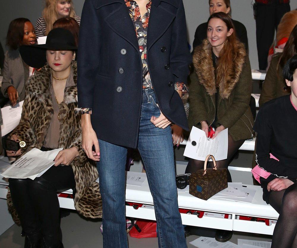 Alexa Chung trägt als Style-Vorbild natürlich Cropped Pants (Getty Images/Tim P. Whitby)