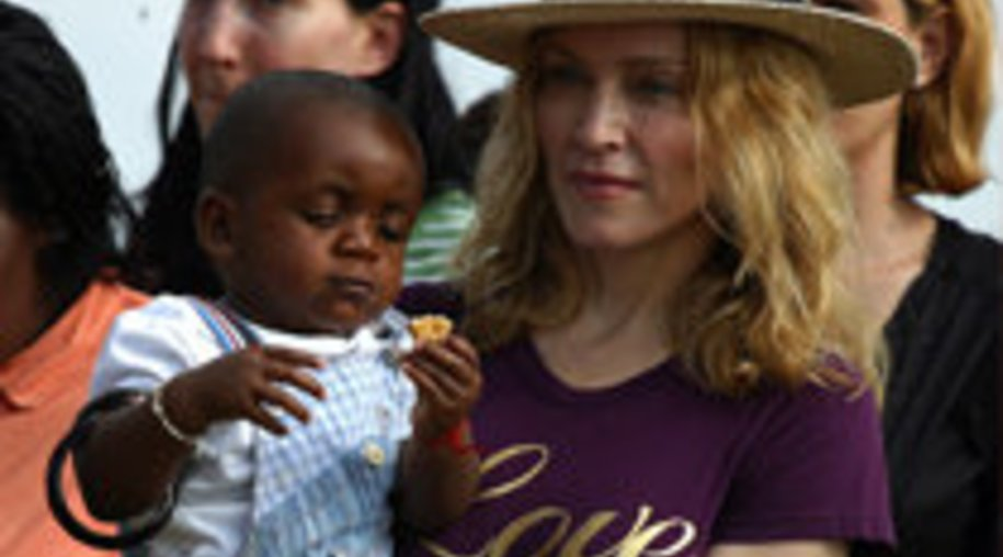 Madonna: Kind gekauft?