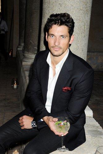 Supermodel David Gandy in Rom