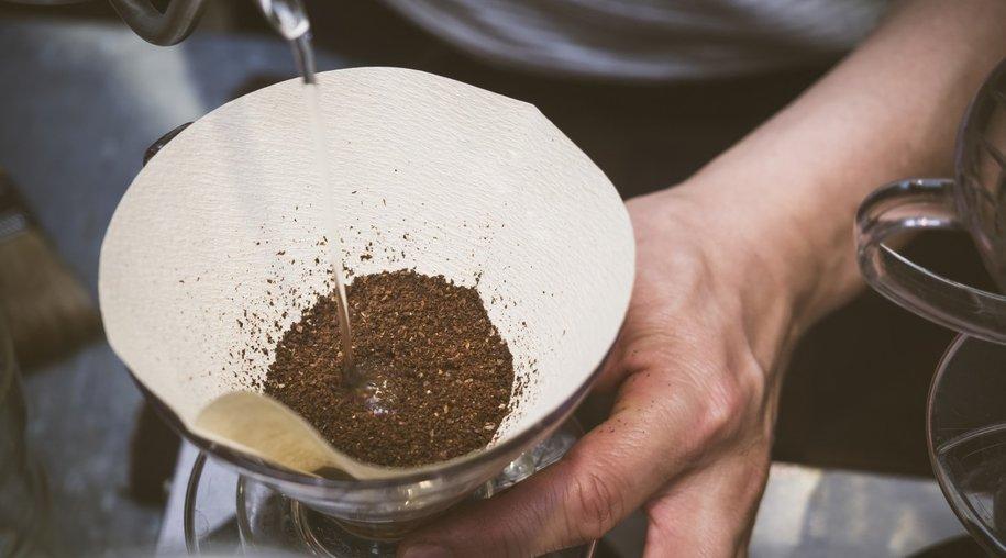 Handfilter Kaffee
