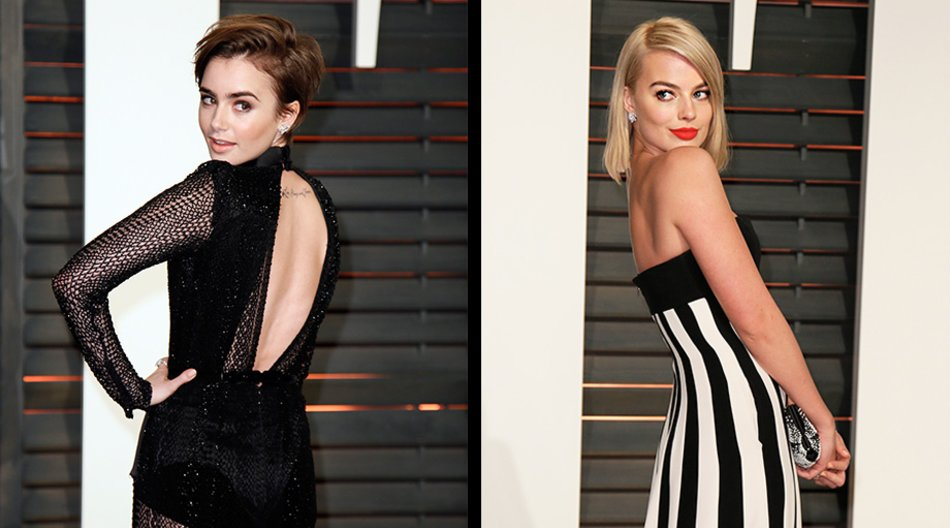 Lily Collins, Margot Robbie