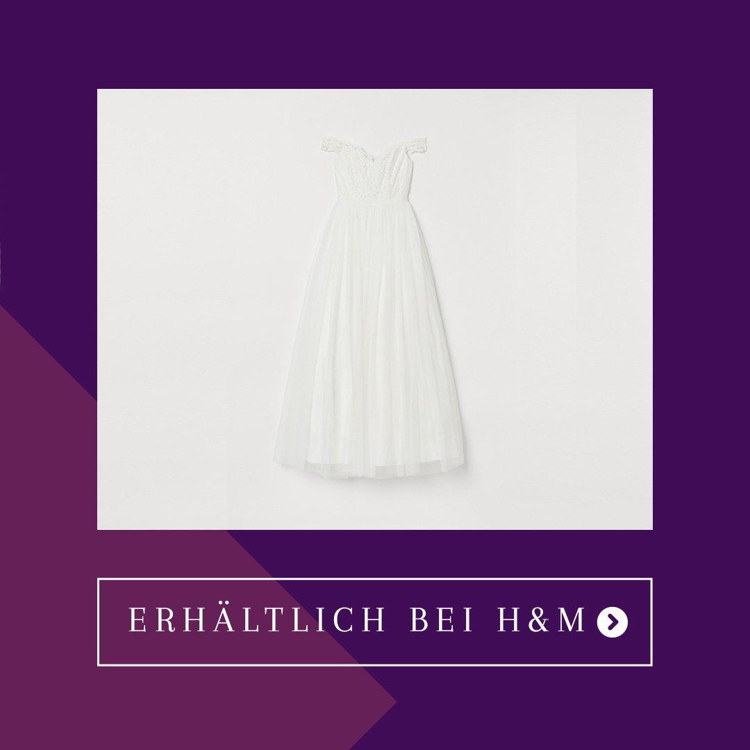 H&M Brautkleid Tüll - H&M Sale