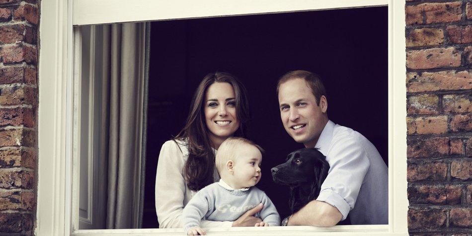 Kate Middleton und Prinz William: So süß ist Prinz George
