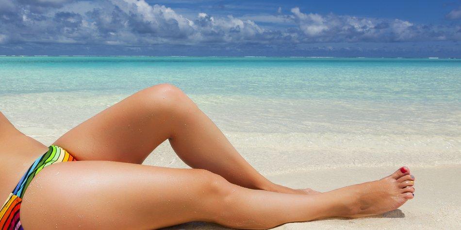 Body-Shaming am Strand