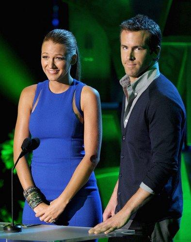 Blake Lively und Ryan Reynolds.