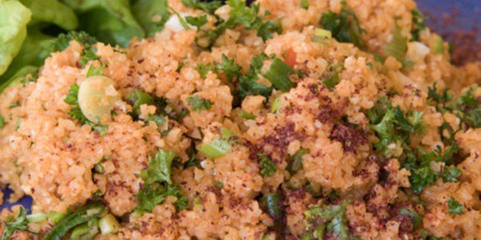Bulgur Salat türkisch