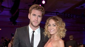 PHOENIX, AZ - MARCH 24:  Actor Liam Hemsworth (L) and singer/actress Miley Cyrus attend Muhammad Ali's Celebrity Fight Night XVIII held at JW Marriott Desert Ridge Resort & Spa on March 24, 2012 in Phoenix, Arizona.  (Photo by Charley Gallay/Getty Images for CFN)