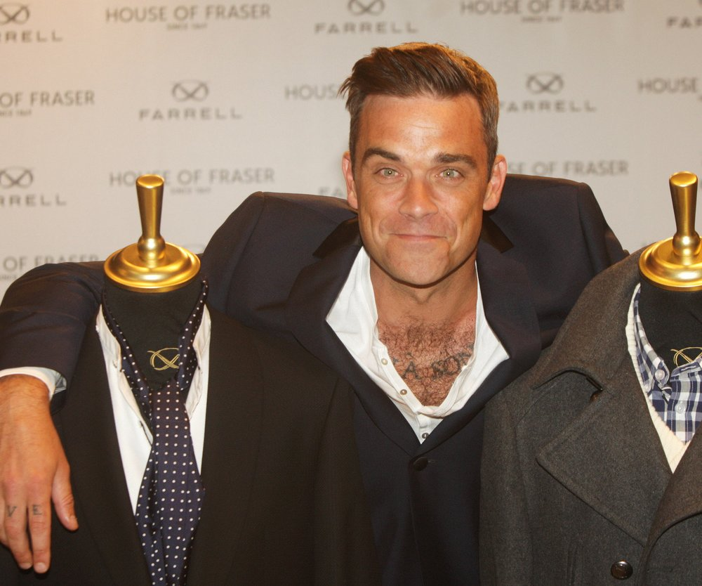 Robbie Williams macht Mode