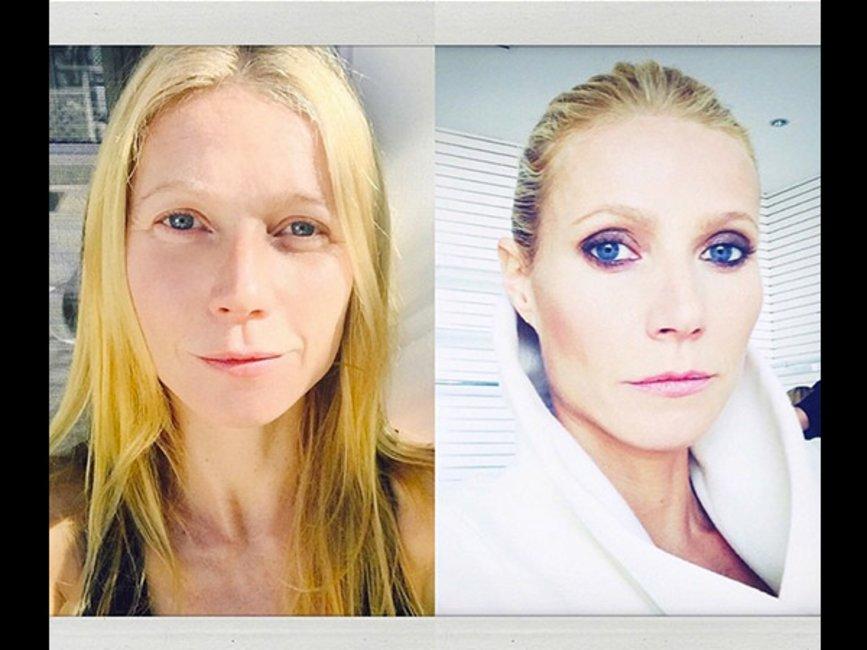 Lady gaga ungeschminkt vs geschminkt