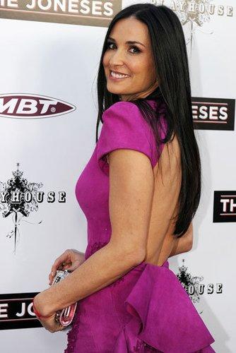 Demi Moore auf der The Joneses-Premiere