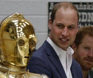 Prinz William Star Wars Harry C3PO