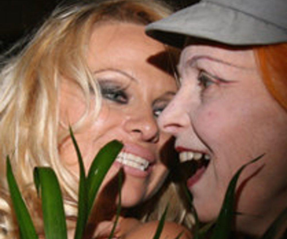 Pamela Anderson als Werbeikone?