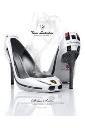 Schuh oder Auto? Diese High Heels sehen aus wie ein Lamborghini
