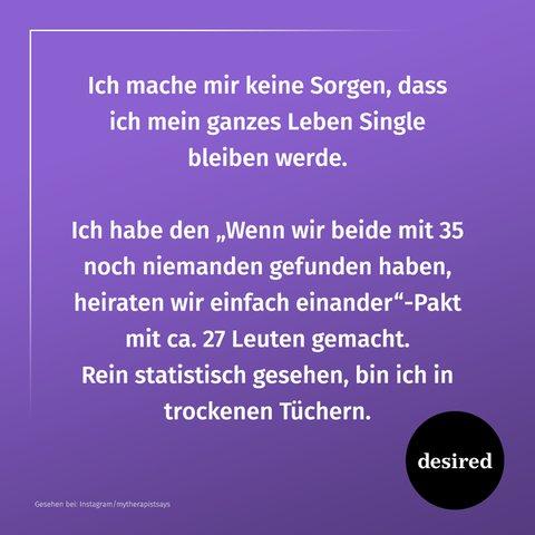 Sprüche endlich single Read Endlich