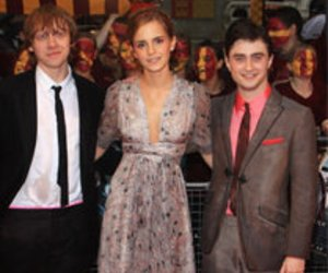 Harry Potter Stars: Spaß bei der Arbeit