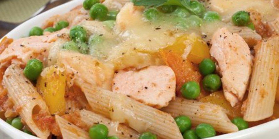 Nudelauflauf mit Gemüse