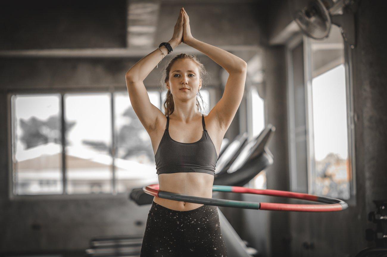 Hula Hoop Muskeln
