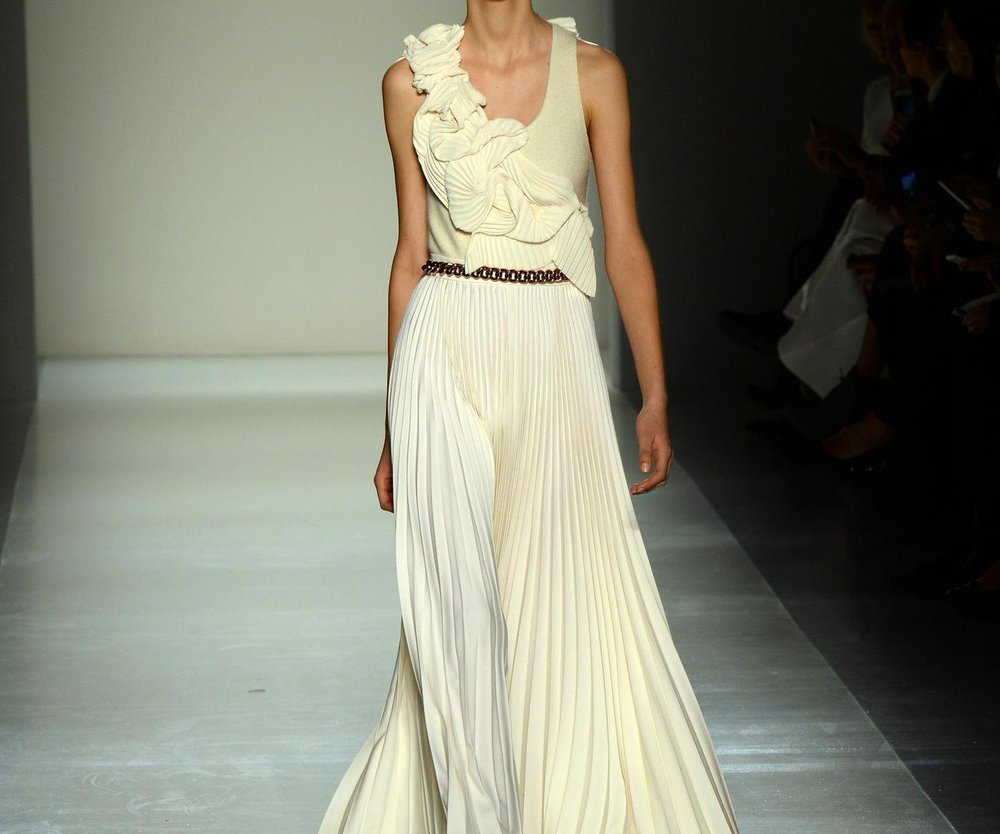 New York Fashion Week: Victoria Beckham zeigt pure Eleganz