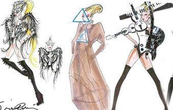 Giorgio Armani für Lady Gaga