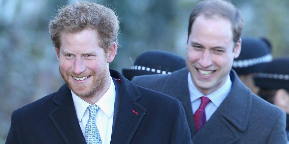 Prinz William und Prinz Harry: Zwei Prinzen auf des Königs Spuren