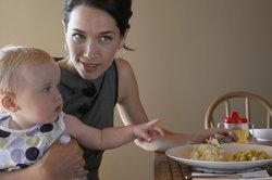 Baby 11 Monate: Familientisch