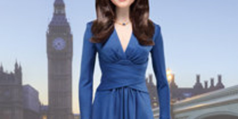 Kate Middleton als Barbie