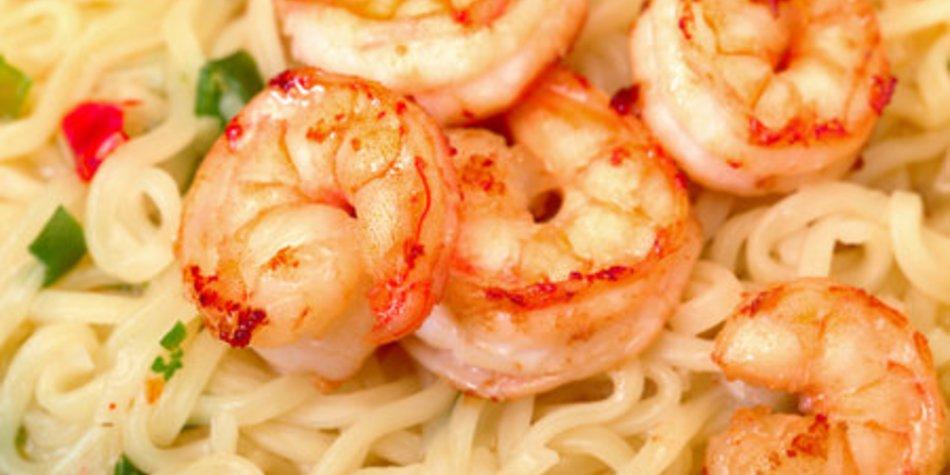 Shrimps zubereiten