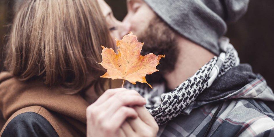 Herbst Paar