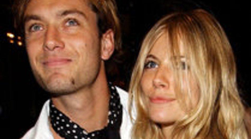 Jude Law und Sienna Miller wieder zusammen