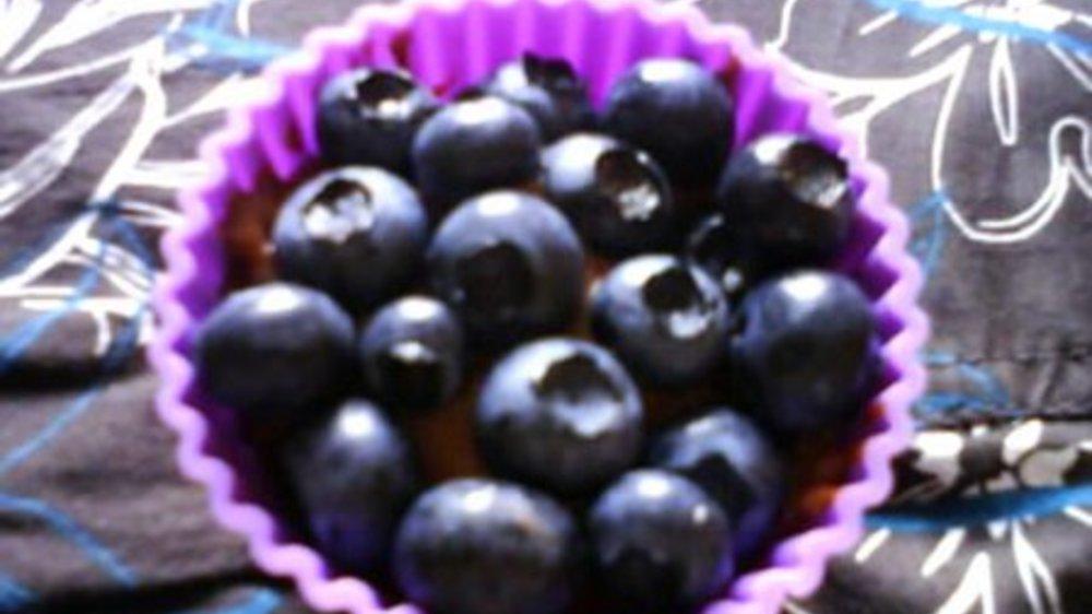 Schoko-Blaubeer-Verpoorten Muffins