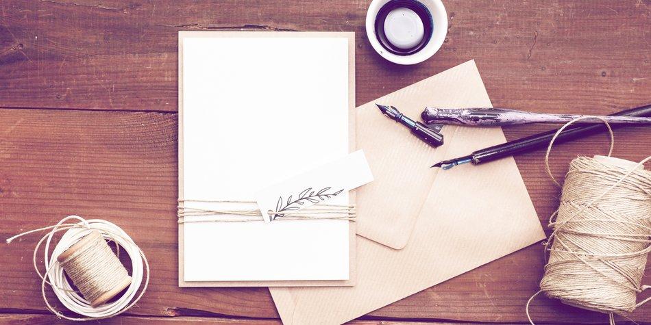 Hochzeitseinladungen Selber Basteln 11 Kreative Ideen