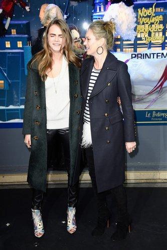 Kate Moss ist mit Cara Delevingne befreundet