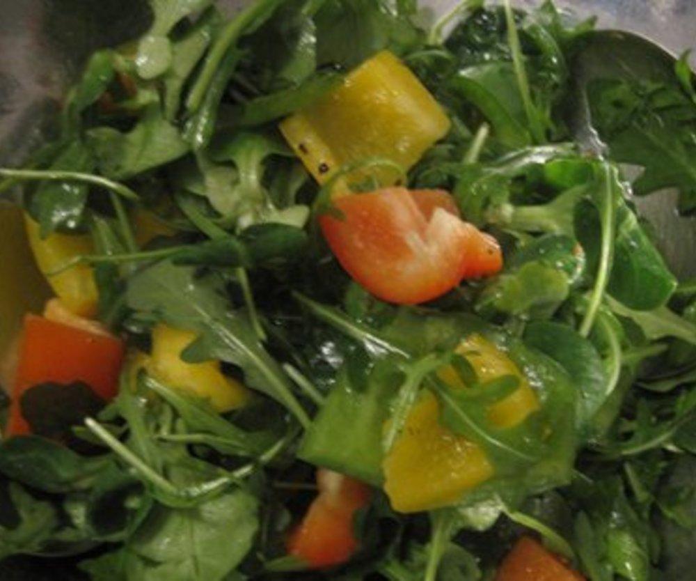 Salatdressing für Feldsalat