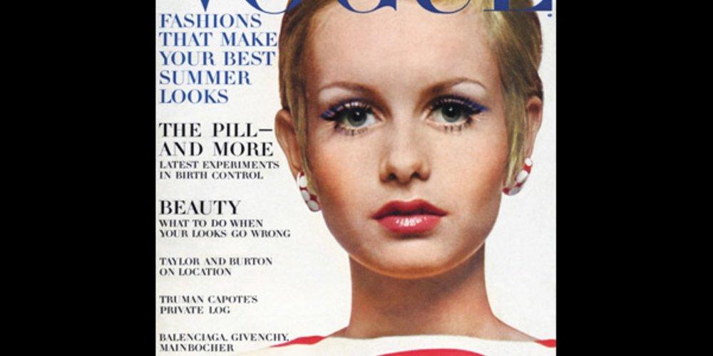 Twiggy für Vogue