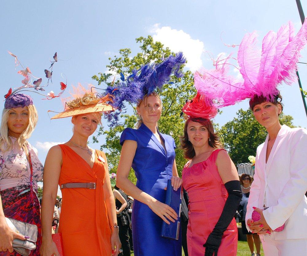 Verrückte Accessoires: Die Hüte beim Royal Ascot