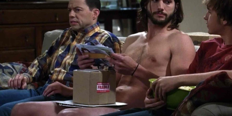 Ashton Kutcher in Two and a Half Men
