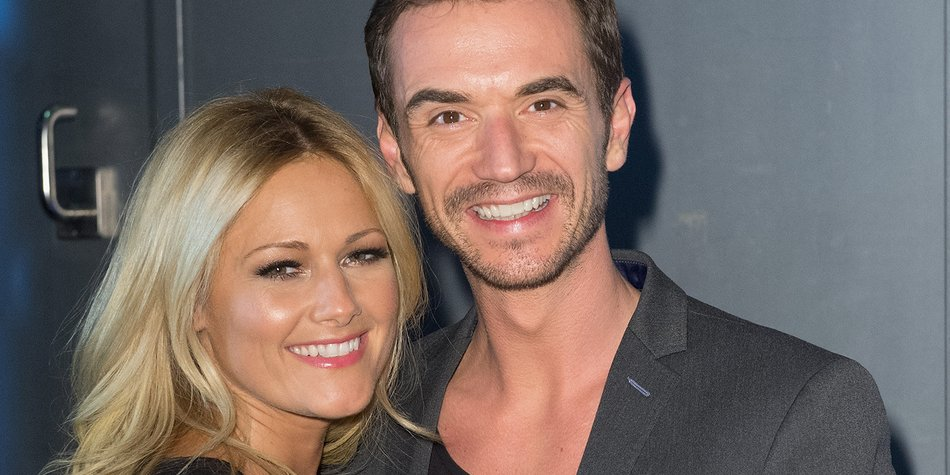 BERLIN, GERMANY - JANUARY 10: Helene Fischer and Florian Silbereisen attend the 'Das grosse Fest der Besten' tv show at Velodrom on January 10, 2015 in Berlin, Germany. (Photo by Target Presse Agentur Gmbh/Getty Images)