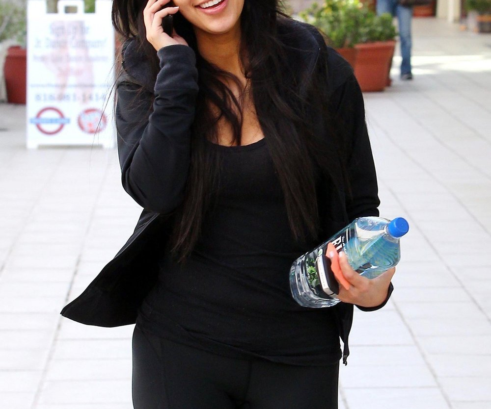 Kim Kardashian braucht kein Make-up!