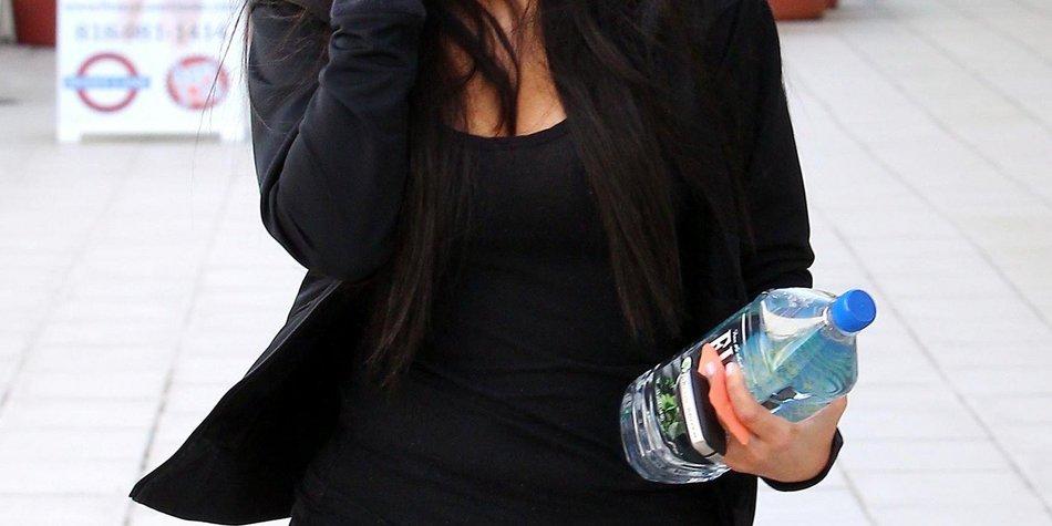 Kim Kardashian braucht kein Make-up!