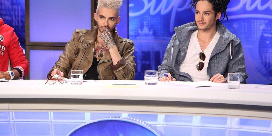 DSDS: Tom und Bill Kaulitz werden fies