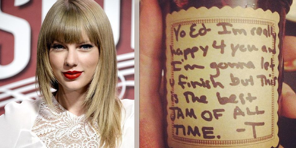 Taylor Swift macht leckere Marmelade
