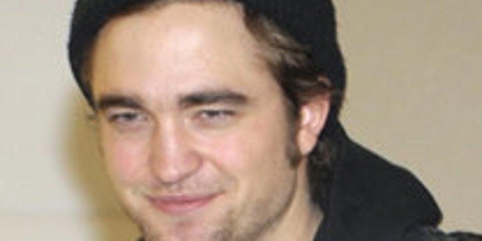 Robert Pattinson wäscht sich nicht gern die Haare