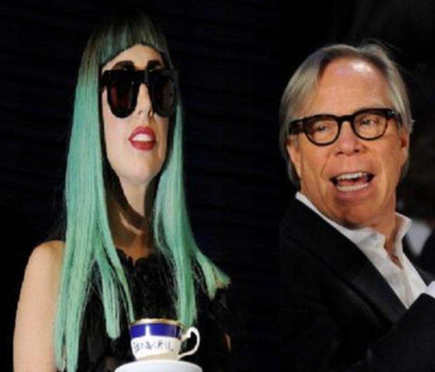 Tommy Hilfiger und Lady Gaga