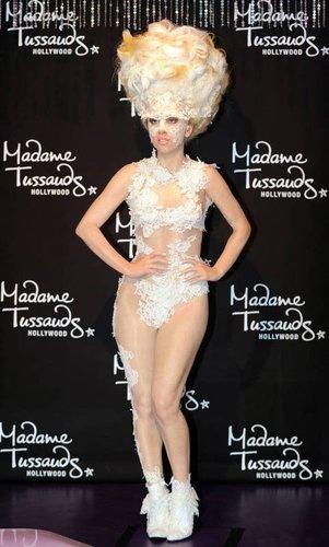 Wachsfigur von Lady Gaga