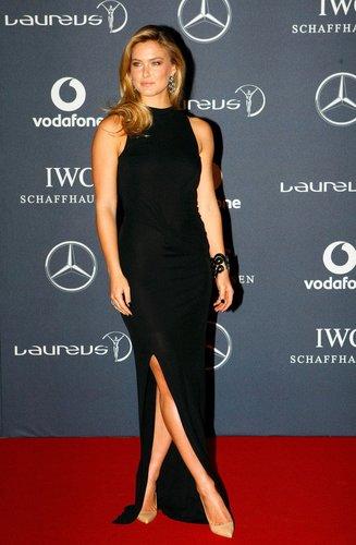 Bar Refaeli 2012 bei den Laureus World Sports Awards in London.